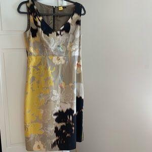 Elie Tahari Water Color Sheath Dress